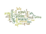 An Image Of Nice Coffee Text Cloud Posters by  magann