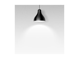 Black Ceiling Lamp Print by  Alhovik