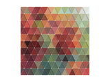 Triangles Pattern Posters by Maksim Krasnov