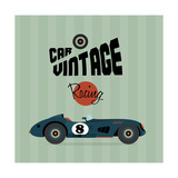 Vintage Sport Racing Cars Prints by vector pro