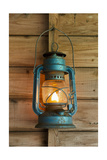 Rusty Lantern Hanging In A Shed Posters by  xlucie-langx