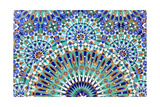 Oriental Mosaic In Morocco Plakat af p.lange