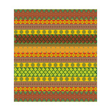 Bright Aztec Pattern Posters by  Yaroslavna