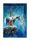 Tree-Horseman On A Horse And Soul Prints by  balaikin2009