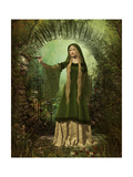 Guardian Of The Secret Garden Prints by Atelier Sommerland