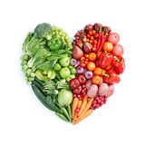 Green And Red Healthy Food Print by  ifong