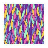 Seamless Abstract Pattern Posters by Olga Lebedeva
