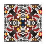 Native American Pattern Premium Giclee Print by ade chandra