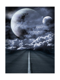 Road To Surreal Galaxy Prints by  frenta