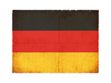 Grunge Flag Of Germany Art by  cmfotoworks