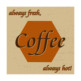 Coffee Vintage Poster Posters by  radubalint