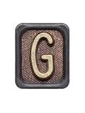 Metal Button Alphabet Letter G Posters av  donatas1205