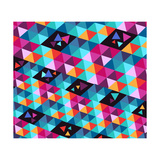 Trendy Hipster Geometric Elements Prints by  cienpies