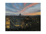 Rome In The Light Of Sunset Poster by  kirilstanchev