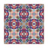 Mexican Textile Design Premium Giclee Print by  Sangoiri