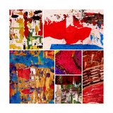 Abstract Painting, Digital Collage Poster by Andriy Zholudyev