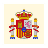 Coat Of Arms Of Spain Prints by  xiver
