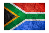 Republic Of South Africa Flag Poster by Miro Novak