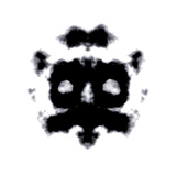 Rorschach Test Of An Ink Blot Card Posters by  kentoh