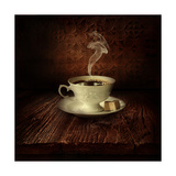 Food Design - Black Coffee Prints by  mythja