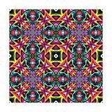 Mexican Textile Design Prints by  Sangoiri