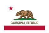 Bandera del estado de California Póster por Bruce stanfield