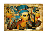 Ancient Egyptian Parchment Posters by  Maugli-l