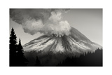 Mt. St. Helens Eruption Art by  anatomyofrockthe
