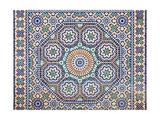 Oriental Mosaic In Morocco Poster af p.lange