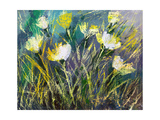 Background Drawing Of Wild Flowers Art by  balaikin2009