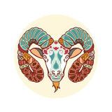 Zodiac Signs - Aries Posters af krasstin