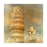Pisa - Retro Styled Picture Posters by  Maugli-l