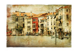 Venice, Artwork In Painting Style Art by  Maugli-l