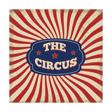 Vintage Circus Background Posters by  radubalint