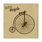 Bicycle Vintage Poster Prints by  radubalint