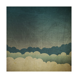 Vintage Grunge Sky Background Art by  pashabo