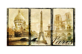Paris - Old Photo-Album Series Posters by  Maugli-l