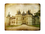 Chaumont Castle - Vintage Card Prints by  Maugli-l