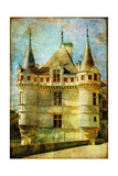 Castle From Old Fairy Tale Book Poster by  Maugli-l