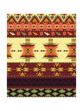 Aztec Seamless Pattern Art by  tomuato