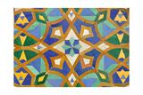 Oriental Mosaic In Casablanca Poster by  p.lange