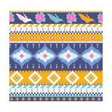 Aztecs Seamless Pattern Posters by  tomuato