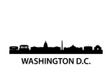 Skyline Washington D.C Poster by  unkreatives