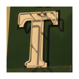 Painting Of The Letters T Art by Ross Studio