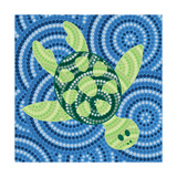 Aboriginal Abstract Art Plakater af Piccola