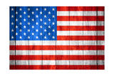 United States Of America Flag Poster by Miro Novak