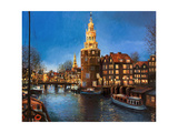 The Lights Of Amsterdam Prints by  kirilstanchev
