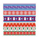 Some Ancient American Pattern Premium Giclee Print by  Sateda