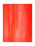 Coral Abstract Art Painting Poster by  T30Gallery