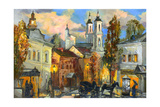 Old Street In Ancient Vitebsk Prints by  balaikin2009